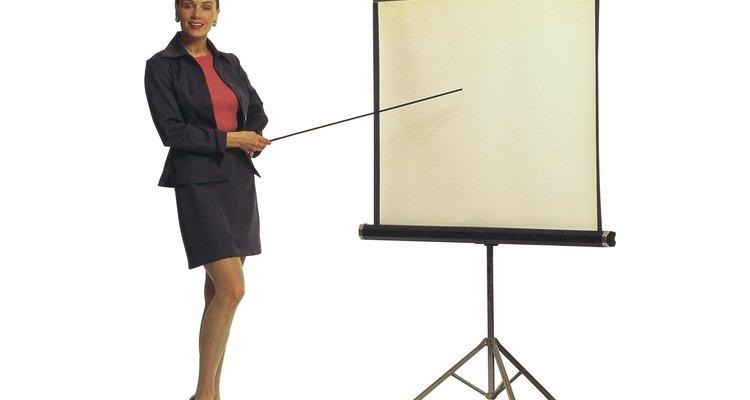 A mancha amarela, na tela do projetor, significa que há algo errado com o aparelho
