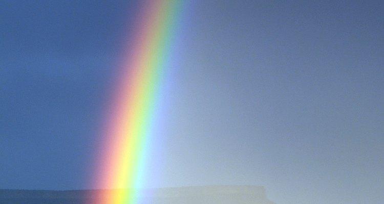 Traga a beleza dos arco-íris para dentro de casa