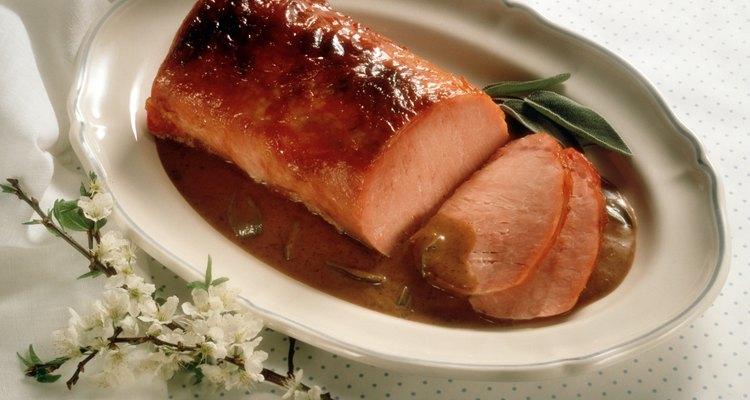Las ciruelas son agrias y dulces, la combinación ideal para el cerdo.