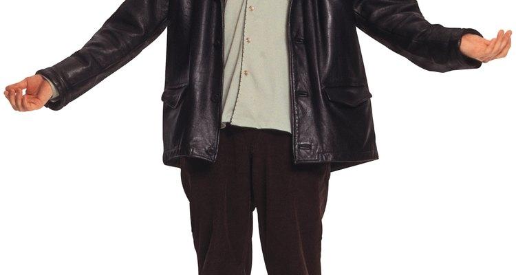 Você pode encolher sua jaqueta se ela estivar muito folgada ou esticada