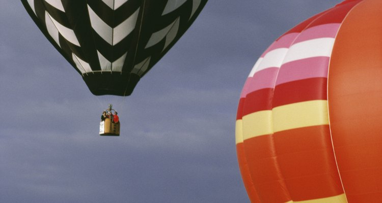 Ripstop nylon is used to make hot-air balloons.