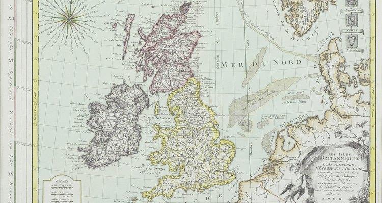 El Reino Unido ha adoptado las prácticas de dibujo de la Organización Internacional de Estándares como propias.