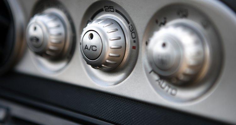 Um ar-condicionado entupido irá manifestar vários sintomas