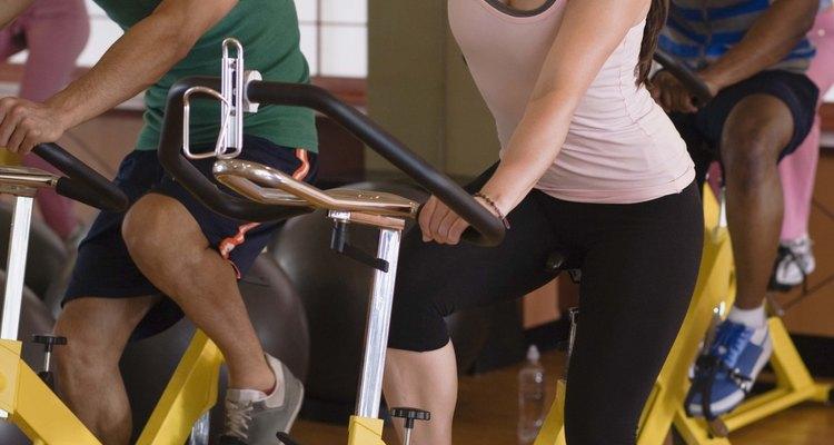 Fique hidratado durante sua aula de spinning