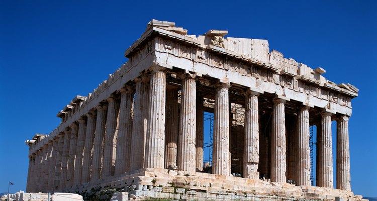 O Parthenon em Atenas, Grécia