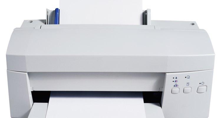 O tamanho padrão para seu folheto lhe permitirá utilizar sua própria impressora doméstica