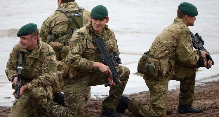 Members of the armed forces are often away more than they are at home.