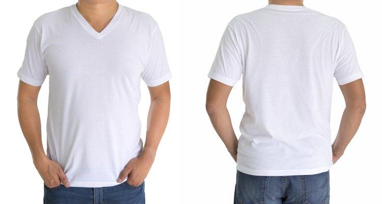 Confecciona tu propia camiseta escote en V.