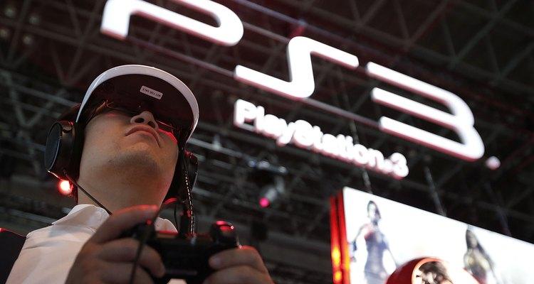 O controle do PS3 tem um botão central usado para ligar e desligar