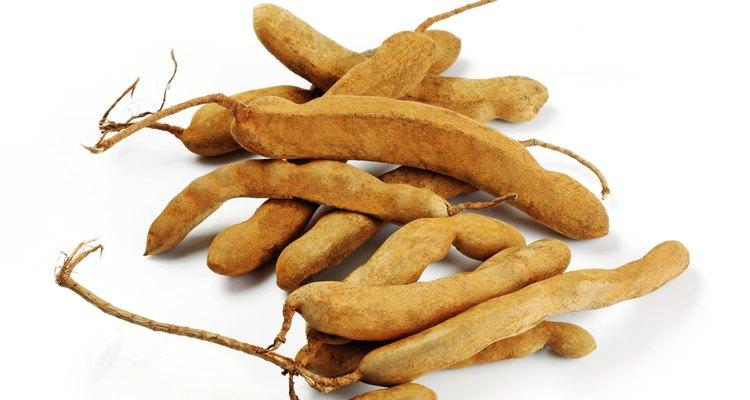 O tamarindo contém pequenas quantidades de vitaminas A e C