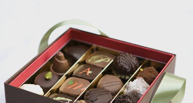 Chocolates pode quebrar o gelo facilmente
