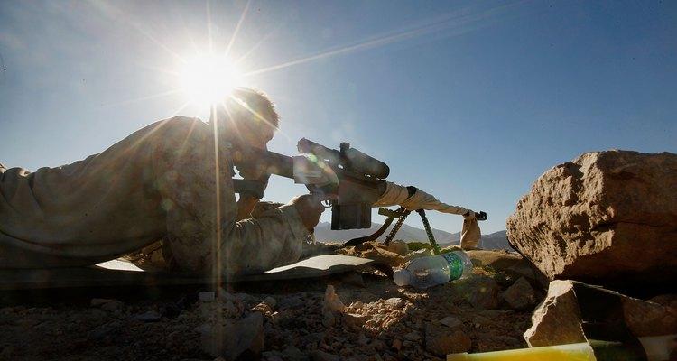 Los francotiradores pueden ser obligados a estar quietos durante largos períodos de tiempo.