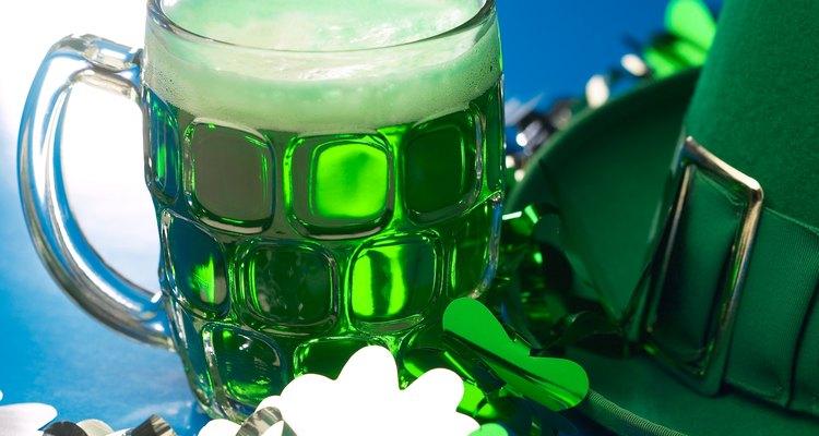 El día de San Patricio es relacionado con el color verde.