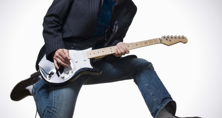 A lyre vibrola or whammy bar adds vibrato to your guitar.
