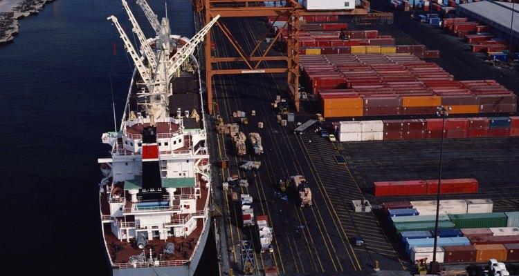 Los contenedores pueden tener carga completa o parcial.