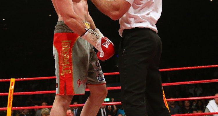 Boxing referees pick up sizeable fees for world title fights.