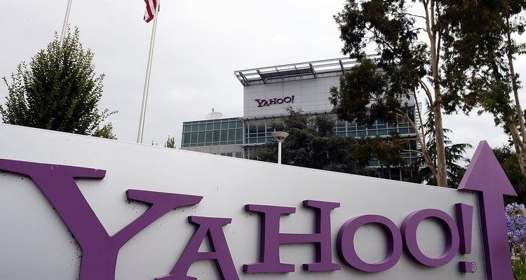 Sede do Yahoo! em Sunnyvale, na Califórnia