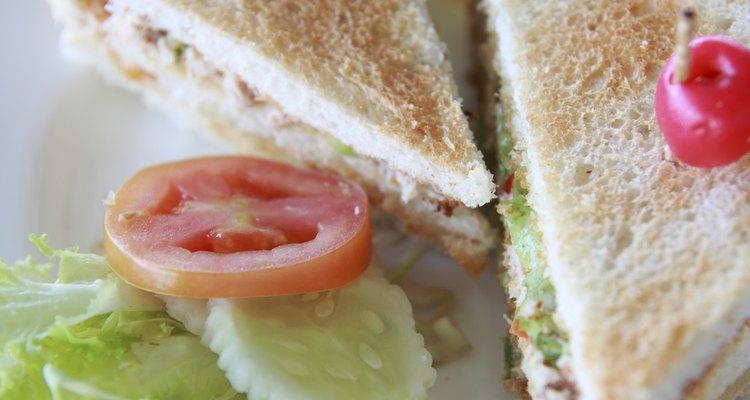 Tuna salad sandwich.