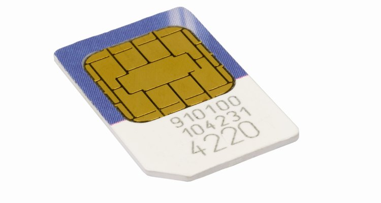 Destroy a SIM card before disposing of it.