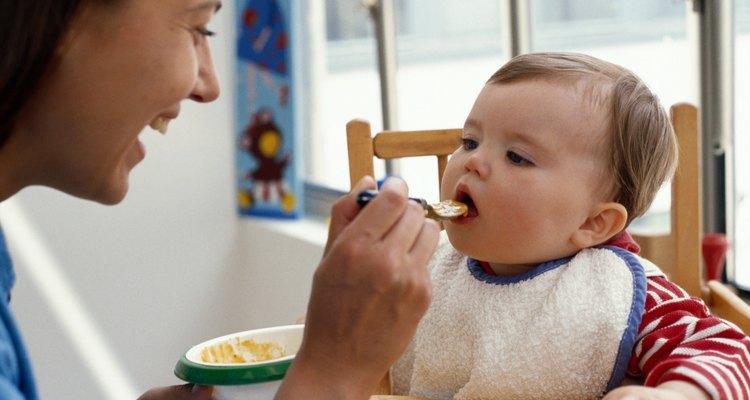 La avena es un primer alimento común.
