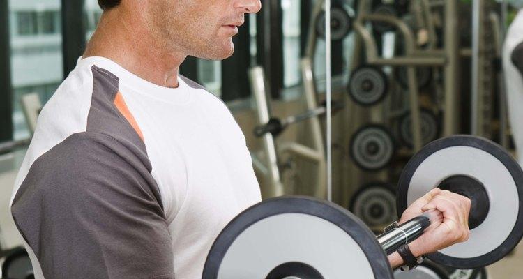 O levantamento de peso requer uma capacidade anaeróbica