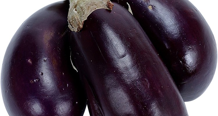 Las berenjenas requieren cuidado y atención para producir buenas verduras.