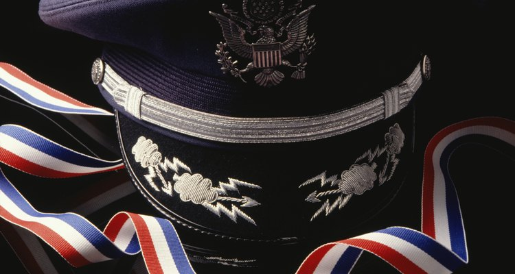 Air Force officers hat and bow