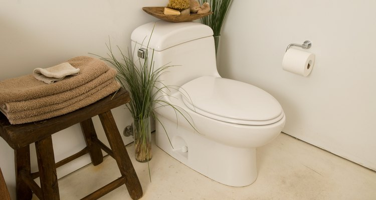 If flushing your toilet causes a sewage smell it may mean that gases may be entering your bathroom.