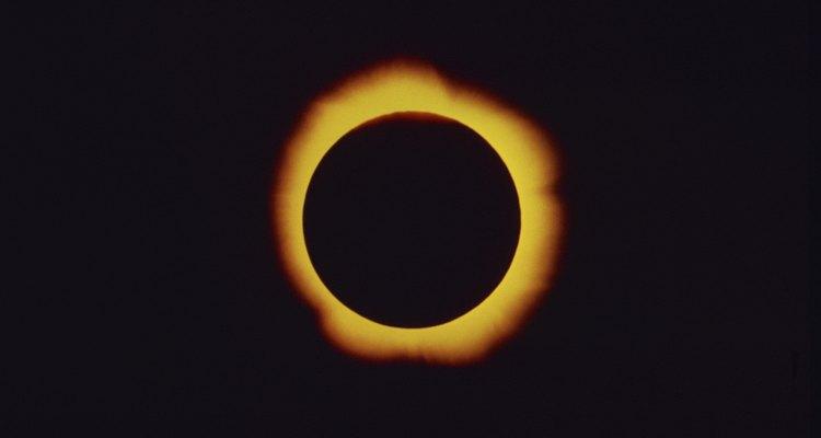 Los eclipses solares son eventos auspiciosos para los budistas tibetanos.