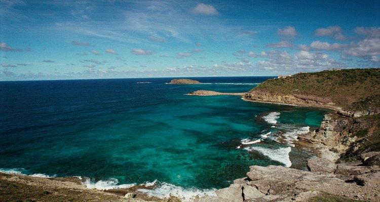 Gustavia está ubicada en el Mar Caribe.