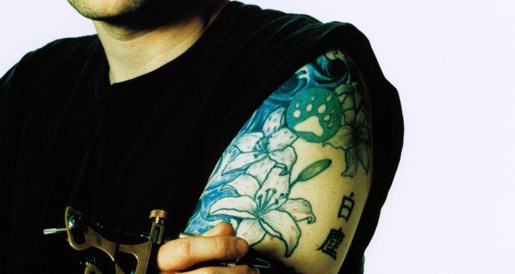 Aprenda a remover uma tatuagem