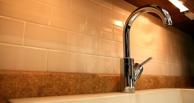 Areas exposed to water require a tile that absorbs little water.