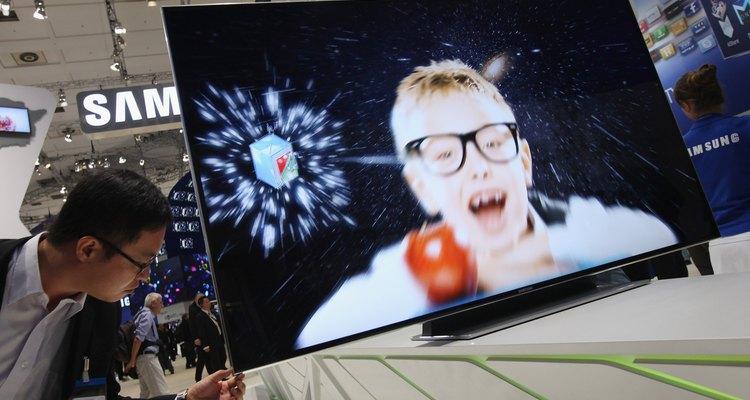 O Wiselink da Samsung permite que você veja as fotos em uma apresentação de slides na TV