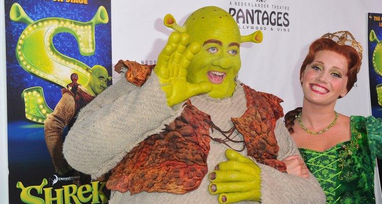 Fantasia de Shrek e Princesa Fiona