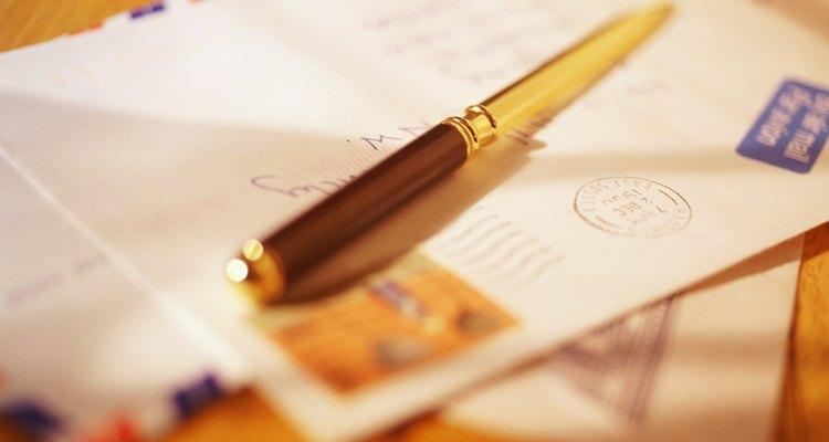 Una carta de negocios debe ser formal.