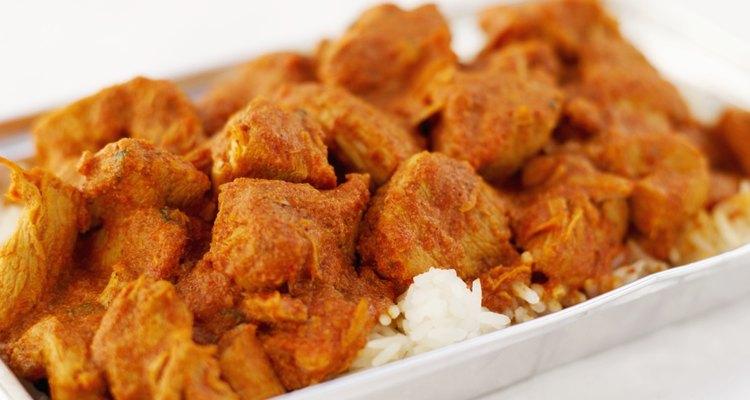 El curry quedará estupendo con el cerdo.
