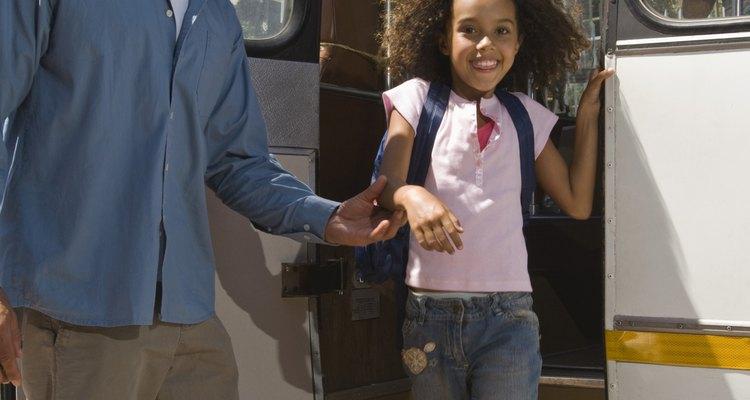"""""""Eu perdi o ônibus"""" é uma desculpa popular para estar atrasado para a aula"""