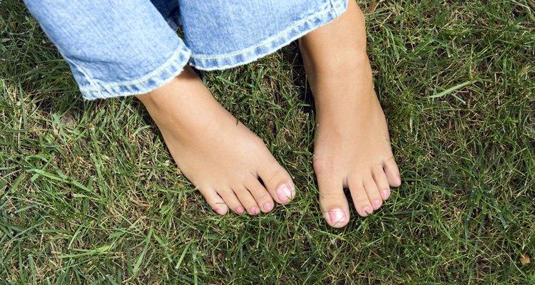 Pés descalços tendem a ter receber lascas de áreas internas e externas