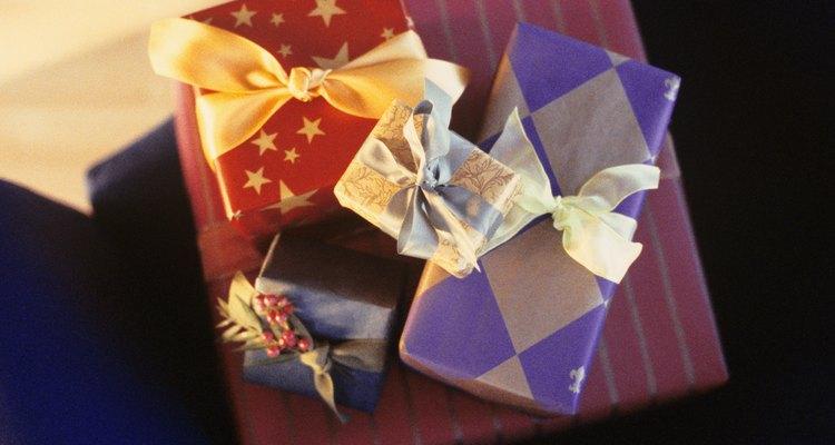 Mesa de regalos.
