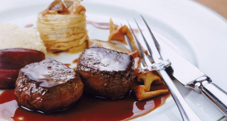 El filete mignon es parte del solomillo, que es el corte más tierno.