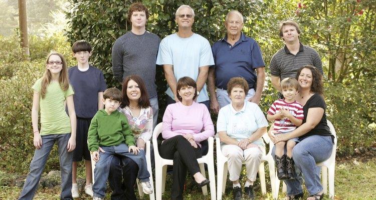Large family portrait
