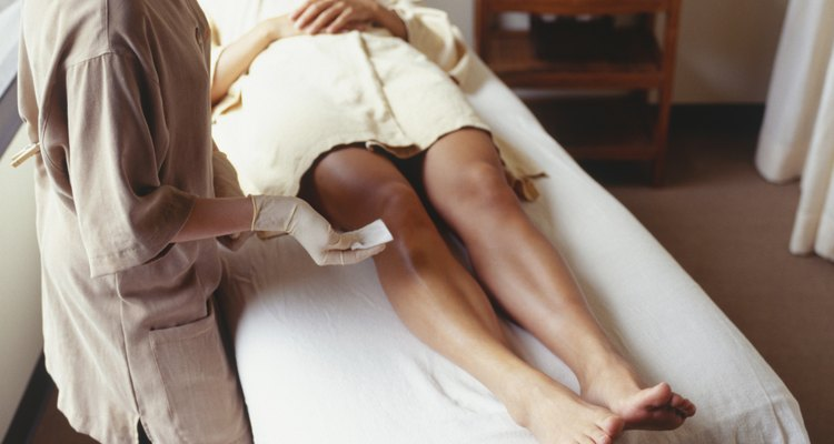 Some spas offer topical numbing treatments prior to waxing.