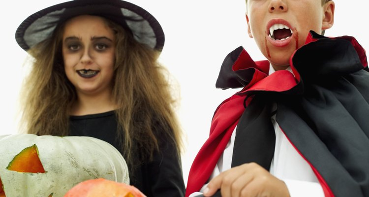 Use wax to black out a tooth for your costume.