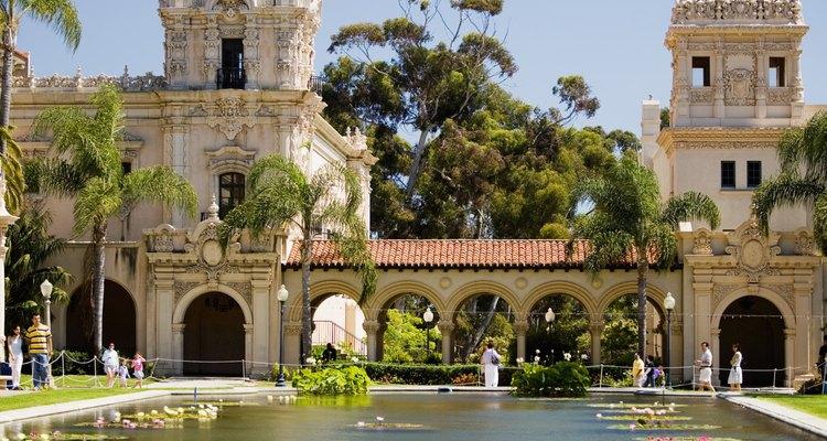 Parque Balboa en San Diego, California.