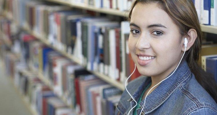 A todas las adolescentes les gustan los reproductores de MP3.