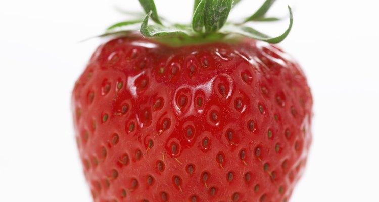 Strawberry, close-up