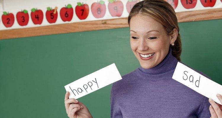 Através do mural de palavras, os estudantes completarão o dicionário