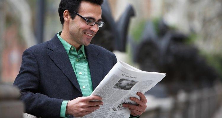 Puedes tener un periódico escrito en broma.