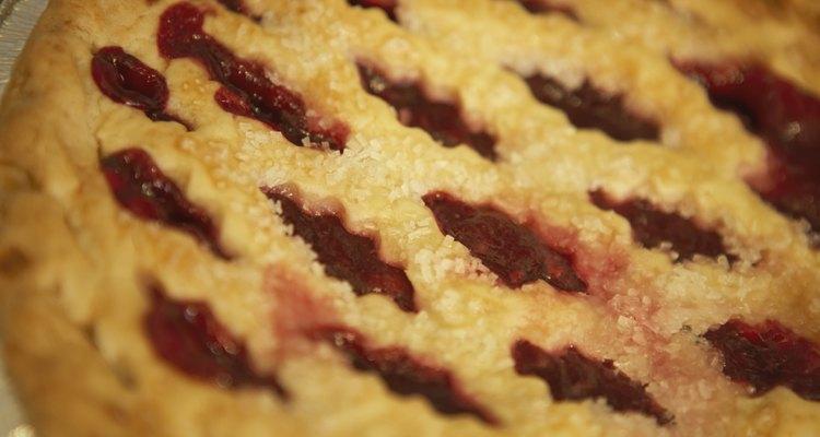 Close-up of a pie