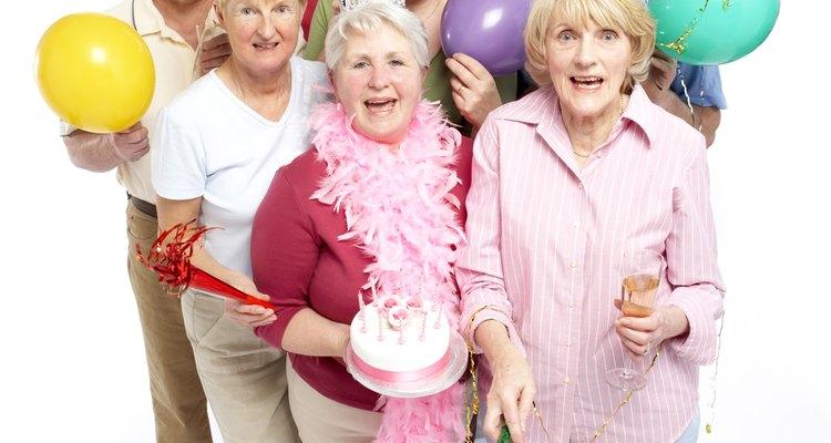 El cumpleaños número 80 de mamá es una ocasión única en la vida.